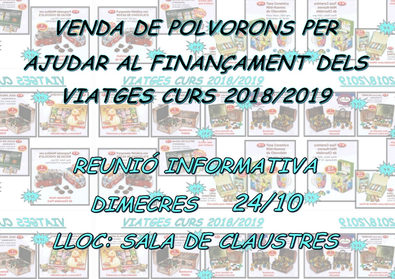 Reunió Polvorons 2018-19